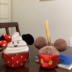 Mickey and Minnie desert Plushes